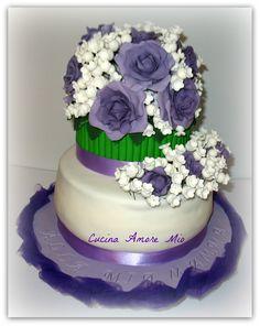 Per la mia mamma, le mie rose e il mio colore preferito!!!