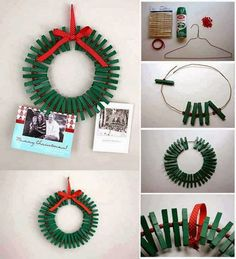 Craft Ideas - #diy, wreath