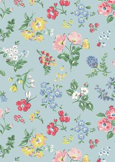 We've captured the English countryside just in time for spring with Meadow print. Join us on a sunny stroll through our wildflower Meadow and take in this fresh, airy floral with a twist | Cath Kidston S16 |
