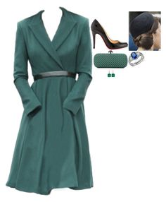 """""""Attending a service at the Cathédrale Notre Dame, the parade, the balcony appearance at the Château de Versailles, the flypast and the garden party in honour of France's National Day"""" by fashion-royalty ❤ liked on Polyvore featuring Christian Louboutin, Bottega Veneta, Irene Neuwirth and Blue Nile"""