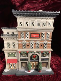 Dept 56 Dayfield's Department Store, Christmas in the City Series, NEW. Christmas In The City, Department Store, Tower, Ebay, Decor, Rook, Decoration, Computer Case, Decorating