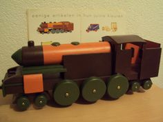 Wooden Toy Trucks, Wooden Toys, Vintage Cars, Wooden Toy Plans, Wood Toys, Woodworking Toys