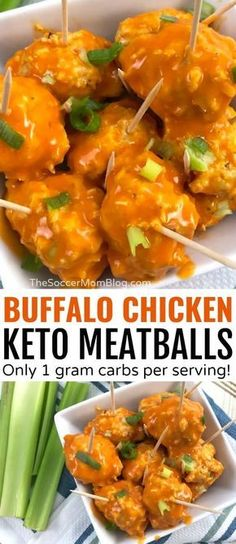 Keto Buffalo Chicken Meatballs - Only net carbs!- Keto Buffalo Chicken Meatballs – Only net carbs! They sound too good to be true, but these Keto Buffalo Chicken Meatballs only have carbs each! Perfect for low carb, paleo, and ketogenic diets! Ketogenic Recipes, Low Carb Recipes, Diet Recipes, Healthy Recipes, Recipes Dinner, Breakfast Recipes, Diet Breakfast, Cocktail Recipes, Ketogenic Diet Menu