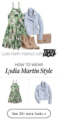 """Lydia Martin inspired outfit/TW"" by tvdsarahmichele on Polyvore featuring Coach and Abercrombie & Fitch"