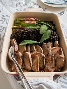 Partridge & gin  Already hungry? :)