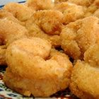 Fried Butterflied Shrimp I changed to one cup breadcrumbs, one cup flour and added some old bay seasoning