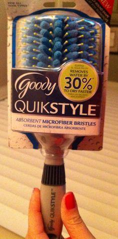 @Influenster @Goody  QuikStyle Brush Half Round Styler