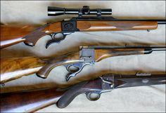 Farquharson action rifles, Jeffery, H&H & Westley Richards
