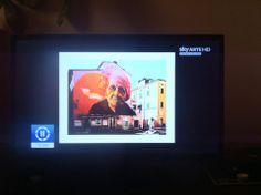 Sky Arte - Orticanoodles - Insetti Inetti 2013 - Carrara - EXP.  Ciao a tutti.  #sky #skyarte #orticanoodles #wallpainting #francescarolla #orticanoodles #exp #insettiinetti