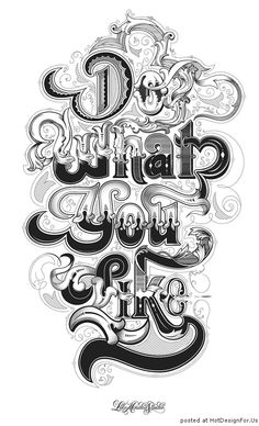 «Do What You Like», дизайн-студия «Like Minded Studio» (Австралия)
