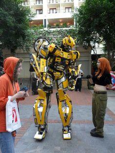 Bumblebee cosplay