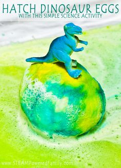 Hatching Dinosaur Eggs With Science