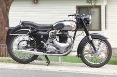 BSA  a10 | Steve Arthur's 1957 BSA A10 Golden Flash