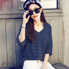 Product Name: MM5030 V Neck Striped T-shirt Click On Link To View This Product : http://gurusing.sg/product/mm5030-v-neck-striped-t-shirt/. We Have Publish More Products And Special Offer Are Going On Our Website GuruSing. Hurry Enjoy Up To 80% Discounts......