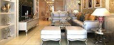 #klassisches wohnzimmer #luxus zimmer ideen #Klassische silber Sofas Sehen Sie mehr hier: http://wohnenmitklassikern.com/klassich-wohnen/luxus-zimmer-ideen-fur-klassisches-wohnzimmer/