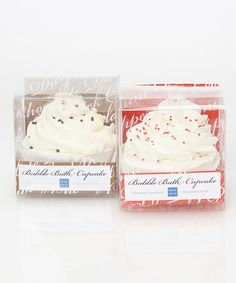 Take a look at this Chocolate & Peppermint Bubble Bath Cupcake Set by Beau Bain on #zulily today! Bubble Bath, Bath Soap, Bath And Body, Aromatherapy, Bubbles, Peppermint, Nirvana, Christmas Stuff, Valentines