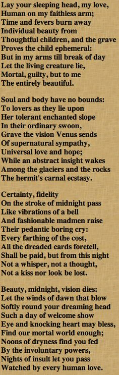 English Poetry Help (WH Auden, Emily Dickinson)?