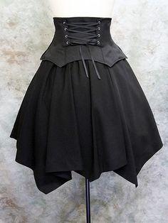 Moi-meme-Moitie Online Shop - Random skirt with corset