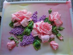 Gallery.ru / Фото #105 - мои вышивки лентами - ndzh57