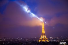 Torre Eiffel desde el Arco del Triunfo Los mejores miradores de París Francia by machbel