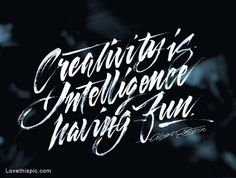 Creativity quotes typography