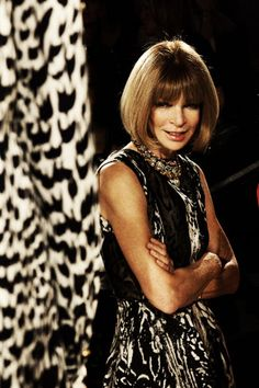 Happy birthday to the queen of fashion, Anna Wintour.
