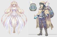 Aura Kingdom: New HD Screenshots and Monster&NPC Artworks - Aura Kingdom - newmmos - 2P.com