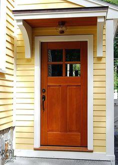 Front Door Awnings Front Door Awnings Wood Front Door Canopy Ideas ...