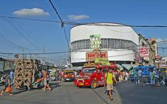 Philippines, Cebu, Carbon Market, red jeepney & San Jose Bake Shop  #PhiΙippines Philippines Cebu, Jeepney, San Jose, Times Square, Fair Grounds, Shop, Red, Travel, Archipelago
