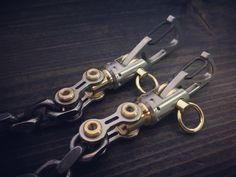 The Crane Operator / Wallet boat chain / Titanium bi-swivel Edc Keychain, Wallet Chain, New Model, Crane, Hand Guns, Pens, Knives, Boat, Accessories