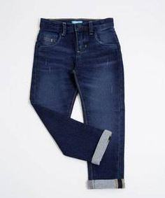 Zara Man 1975 original denim DECONSTRUCTED CHECKED SHIRT button blue