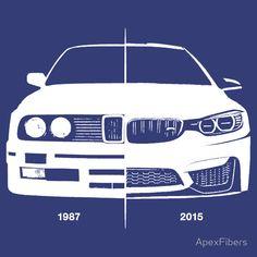 Old / New - BMW M3 (e30) / BMW M4 (F82)