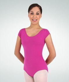 Body Wrappers: Classwear Short Sleeve Ballet Cut Leotard