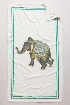 Signature Elephant Beach Towel by John Robshaw #anthrofave