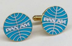 13244 Pan Am American Airlines Retro Logo Cuff Links | eBay