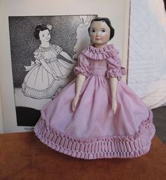 Hitty+based+on+the+Original+Wood+Doll+Measurements.+Hand+Carved+Jointed+by+A&H++