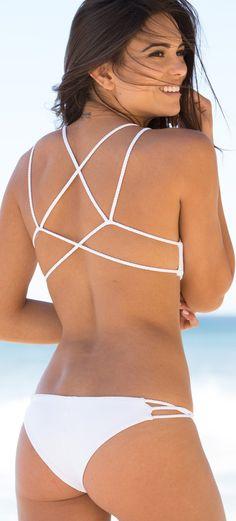 Frankies // Kaia Braided Sport Bikini top and Twisted Skimpy Bottom