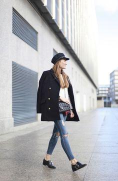 8bbc85946597 Bartabac Look Marinero Moda Outono Inverno, Roupas Fashion, Fashion  Business, Inverno Chique,