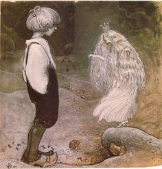 Swedish painter and illustrator John Bauer (1882 - 1918)
