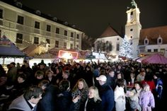 (PHOTO: Getty)  Europe's top Christmas markets 2016:  Bratislava, Slovakia (At Christmas, the Slovakian capital comes into its own. The Bratislava Christmas Market has all the hallmarks of a classic European one: the emphasis is firmly on celebrating local produce. Stock up on traditional honey cakes, strudel and mugs of mead. Dates: 18 November 22 December. Stay: Mama's Design Hotel)