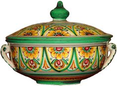 Spanish Tureen is perfect for serving & keeping food warm