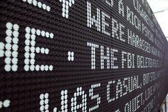 TNT's Electromagnetic Dot-Screen Billboard Enthralls Passersby #AdFreak #Television