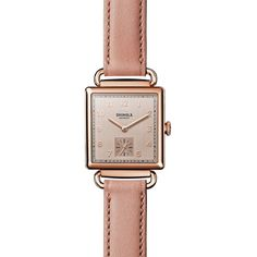 Shinola Cass Watch, 28mm (2.265 BRL) ❤ liked on Polyvore featuring jewelry and watches