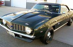 1969 #Chevrolet Camaro ZL-1
