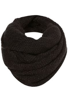 charcoal zigzag infinity scarf/snood.