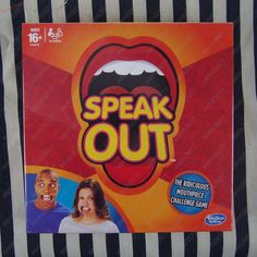 New Speak Out Board Game Mouthguard Challenge Game Gift