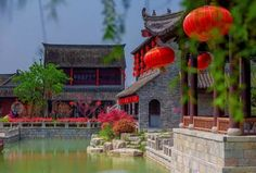 Get a glimpse into the elegant Pan'an Water Town in Xuzhou, a major city in and the largest prefecture-level city of Jiangsu Province China Architecture, Nanjing, Mansions, Elegant, House Styles, City, Water, Classy, Gripe Water