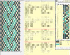 32 tarjetas, 4 colores, repite dibujo cada 12 movimientos // sed_81 ༺❁