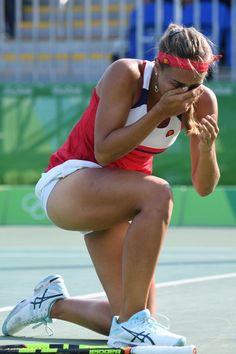 Madison Keys Last American Woman Standing At 2016 Rio Olympics; Monica Puig…