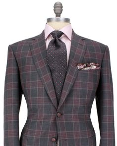 Brioni-Charcoal-with-Red-Plaid-Sportcoat-10922935-3995.jpg 500×625 pixels